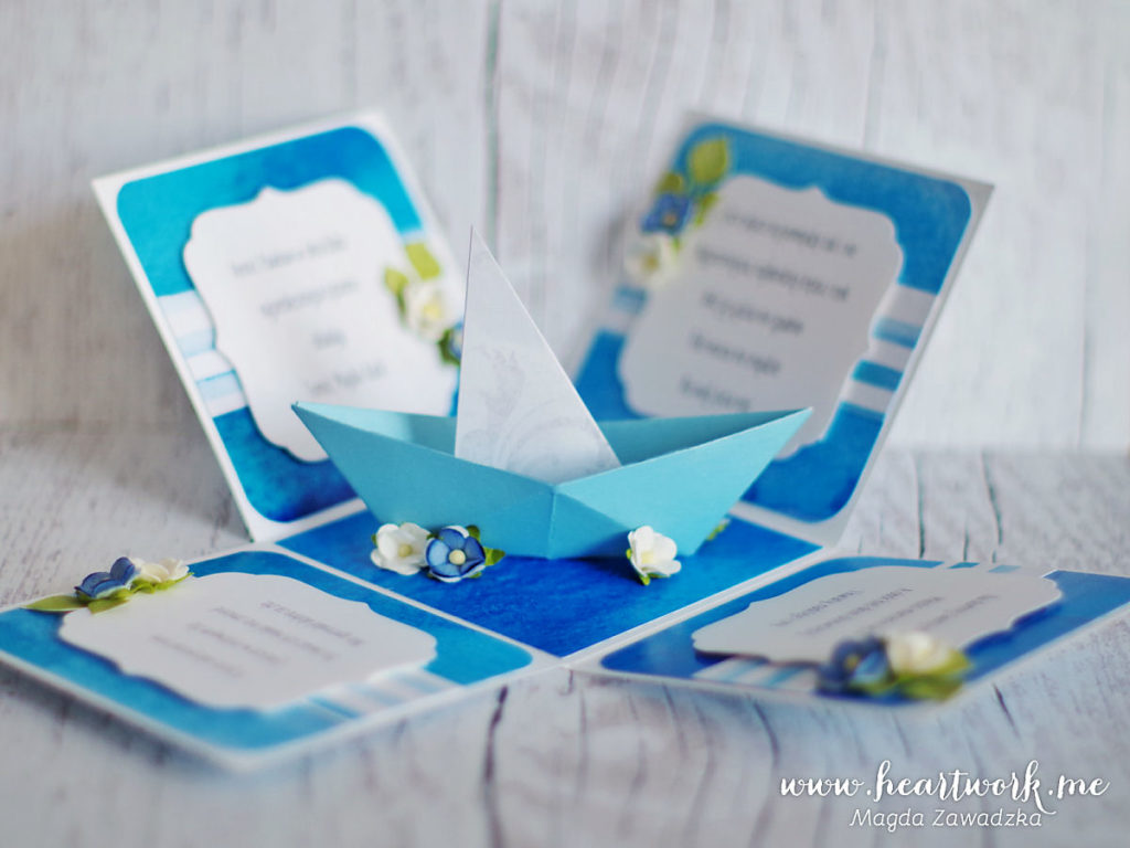 Exploding box na ślub. Oryginalny pomysł na prezent ślubny.