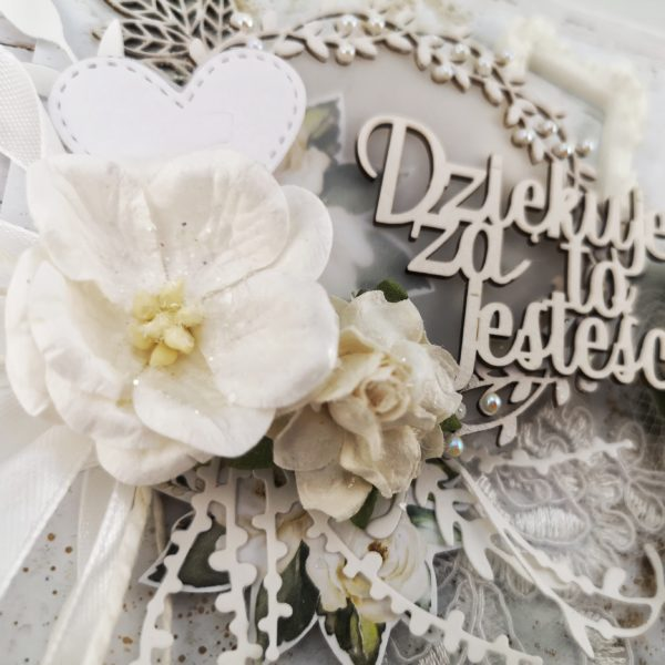 Ręcznie robione kartki z podziękowaniami od pary młodej dla rodziców. Ślubne podziękowania dla rodziców. Oryginalne kartki ślubne. Rękodzieło Wrocław.
